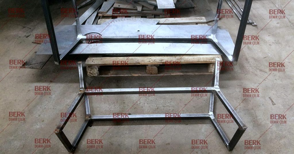 We are manufacturing steel products.