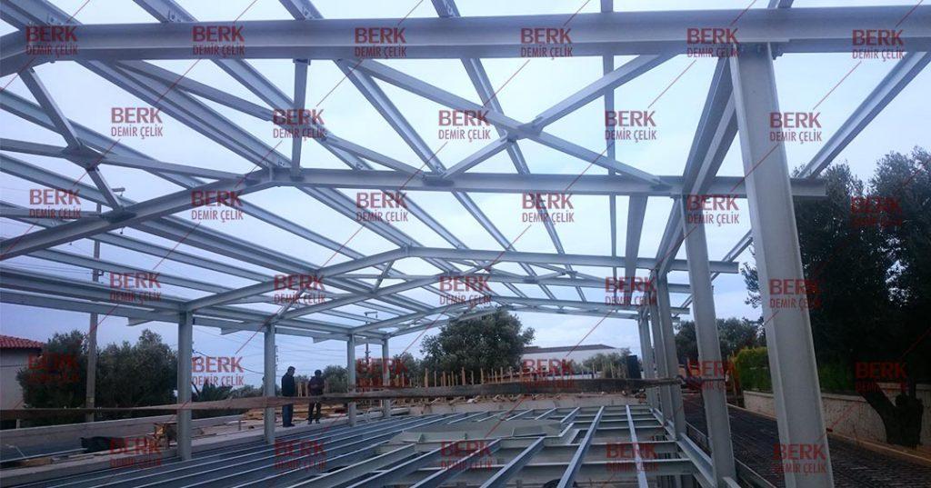 Çelik Yapı_ Çelik Çatı